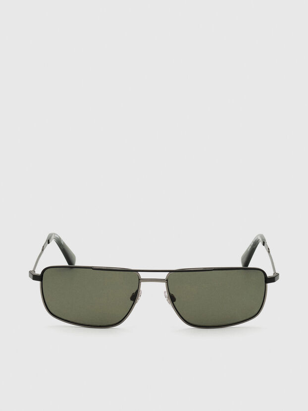 DL0308, Black/Grey - Sunglasses