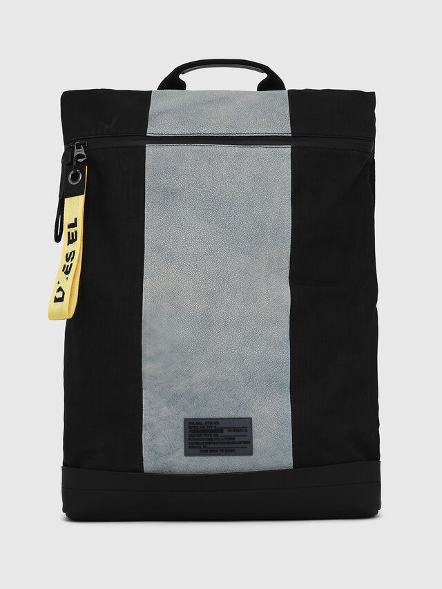 Diesel - L-TOLLE BACK, Blue - Backpacks - Image 1