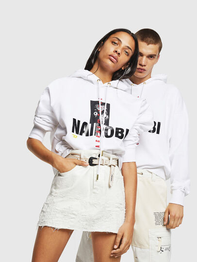 Diesel - LCP-S-ALBY-NAIROBI, White - Sweaters - Image 6