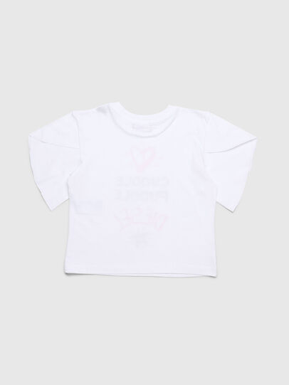 Diesel - TUNGIB-R, White - T-shirts and Tops - Image 2