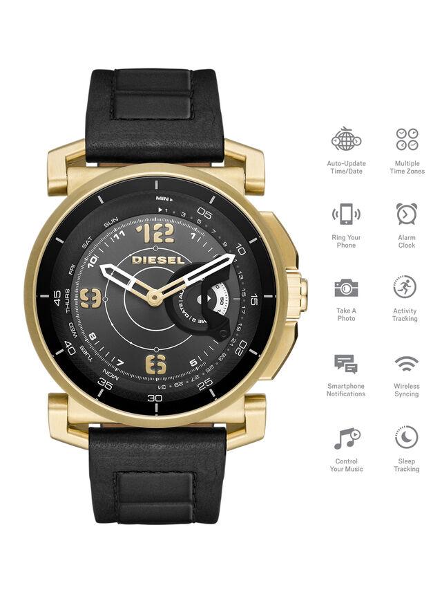 Diesel - DT1004, Black - Smartwatches - Image 1