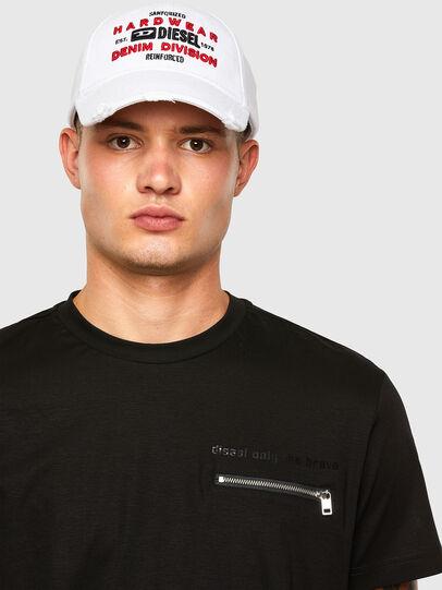 Diesel - T-ZITASK, Black - T-Shirts - Image 3