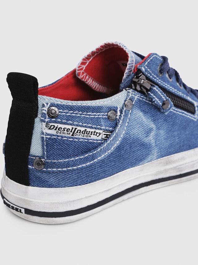 Diesel - EXPO-ZIP LOW W, Blue Jeans - Sneakers - Image 5