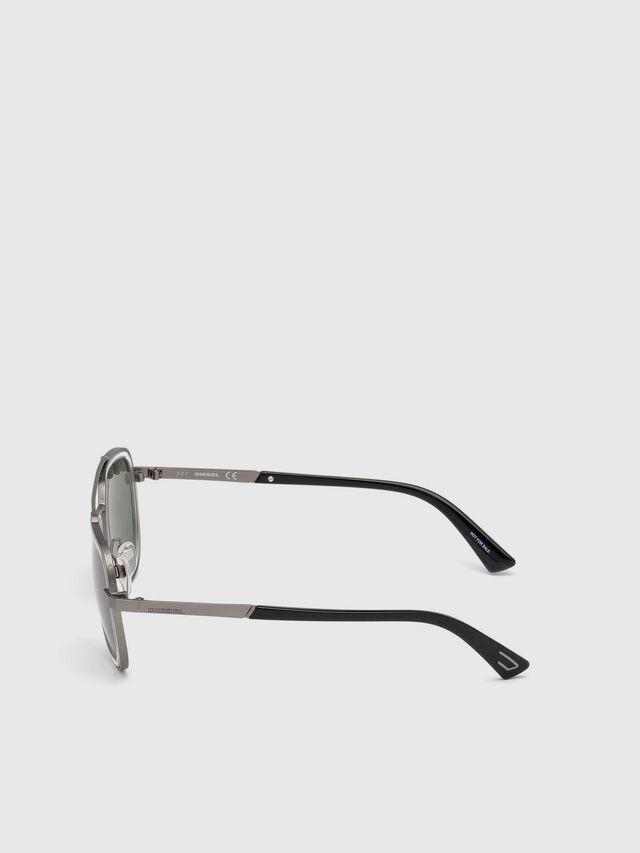 Diesel DL0266, Black/Grey - Eyewear - Image 3