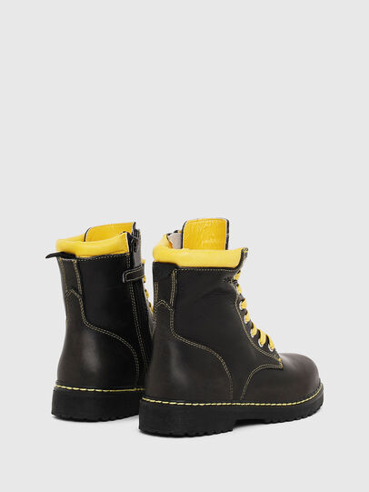 Diesel - HB LACE UP 04 CH, Black - Footwear - Image 3