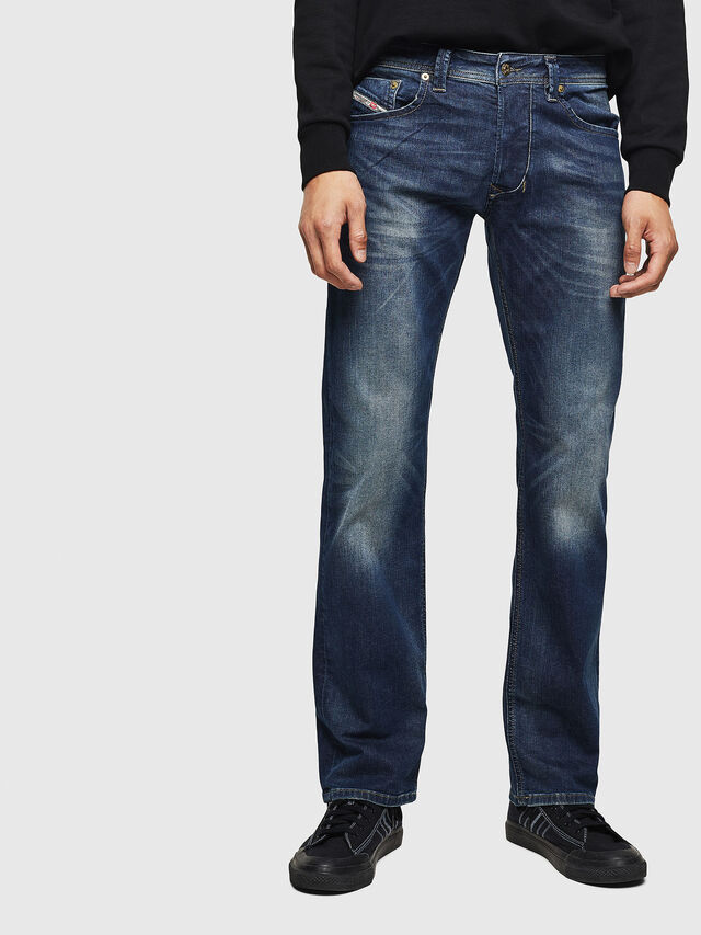 999fa64e LARKEE 0853R Men: Straight Dark blue Jeans | Diesel