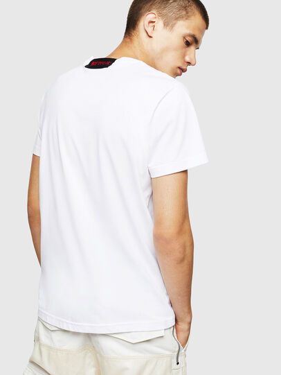 Diesel - LCP-T-DIEGO-BOGOTA, White - T-Shirts - Image 3