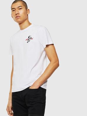 T-DIEGO-J16, White - T-Shirts