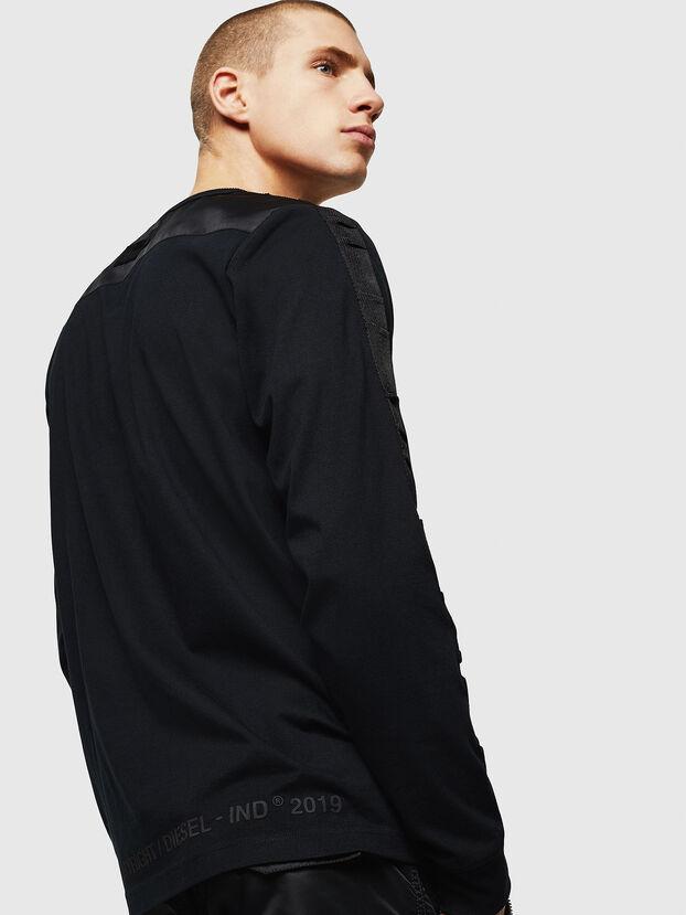 T-JUST-LS-BX3, Black - T-Shirts