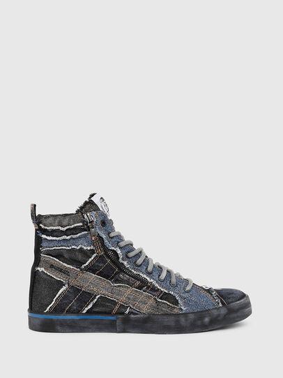 Diesel - D-VELOWS MID LACE, Black/Blue - Sneakers - Image 1