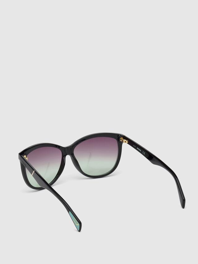 Diesel - DL0221, Black - Eyewear - Image 2