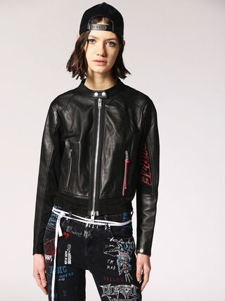 L-LYSSA-B,  - Leather jackets