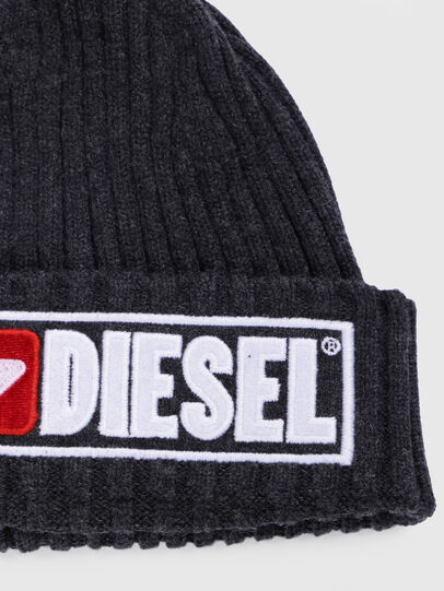 Diesel - K-CODER-B, Black - Knit caps - Image 3