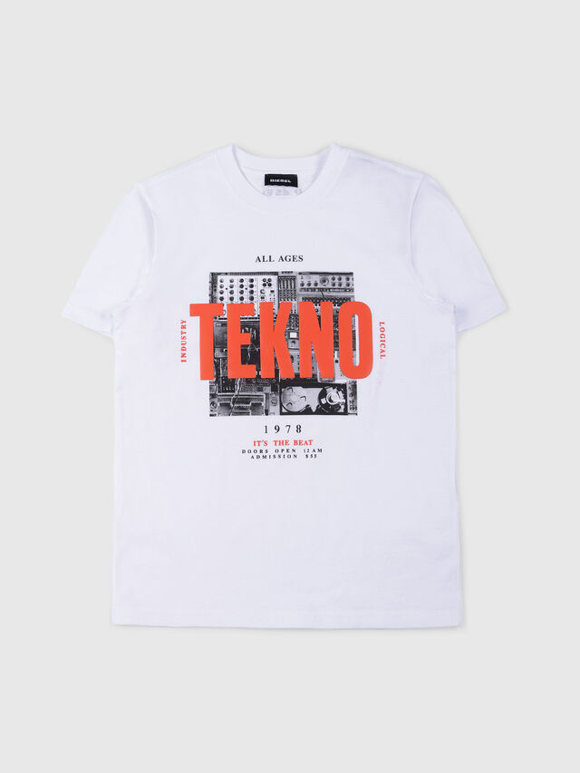 Diesel - TJUSTWA, White - T-shirts and Tops - Image 1