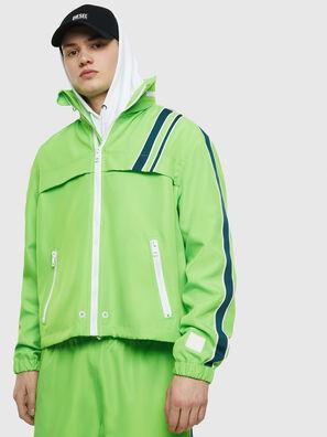 J-BROCK, Green Fluo - Jackets