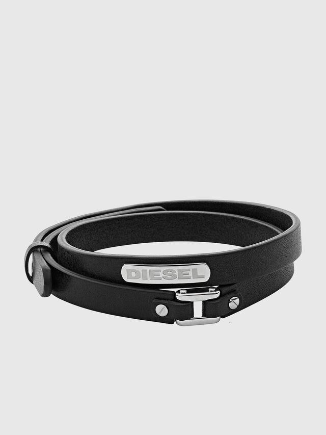 Diesel - BRACELET DX0971, Black - Bracelets - Image 1