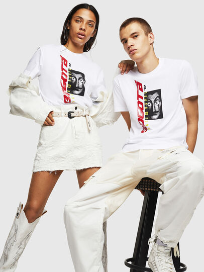Diesel - LCP-T-DIEGO-BOGOTA, White - T-Shirts - Image 6