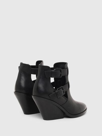 Diesel - D-FLAMINGO OB, Black - Ankle Boots - Image 3