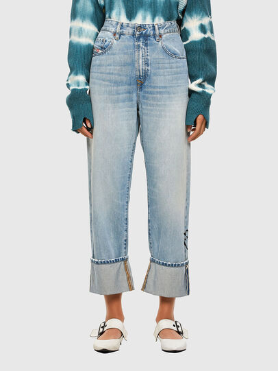 Diesel - D-Reggy 009GZ, Light Blue - Jeans - Image 1