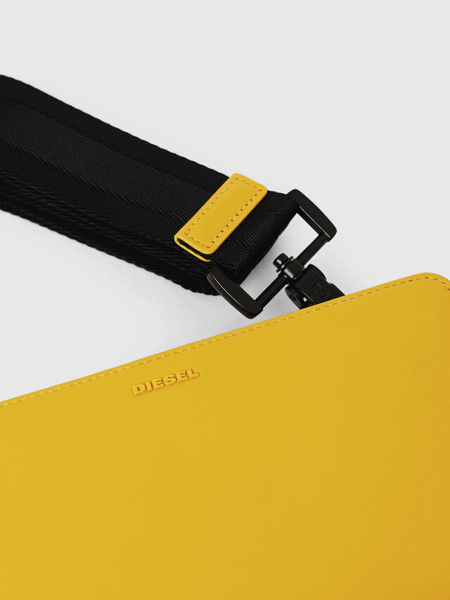 Diesel - NEW GRANATO LOOP, Yellow - Zip-Round Wallets - Image 5