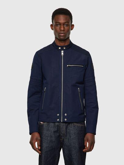 Diesel - J-GLORY, Dark Blue - Jackets - Image 1
