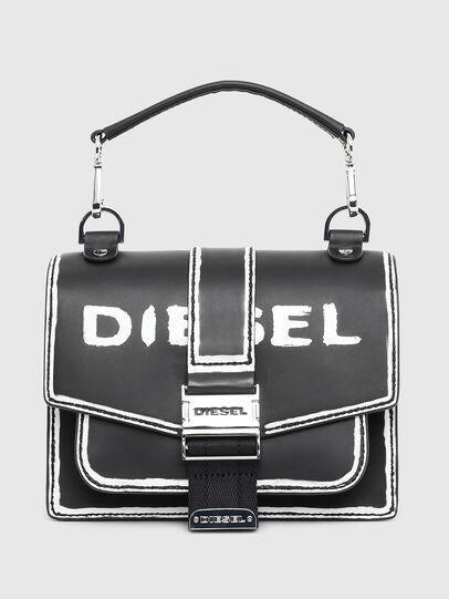 Diesel - MISS-MATCH CROSSBODY, Black/White - Crossbody Bags - Image 1