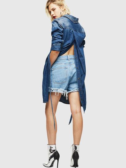 Diesel - DE-BLEU, Medium blue - Dresses - Image 6