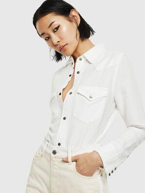 DE-RINGY, White - Denim Shirts