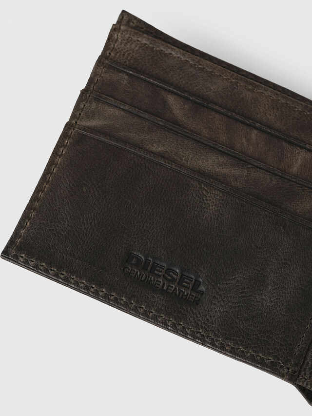 Diesel - HIRESH S, Green/Grey - Small Wallets - Image 4