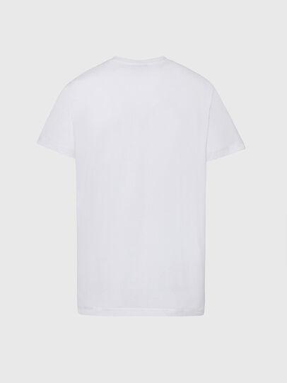 Diesel - T-DIEGOS-K34, White - T-Shirts - Image 2
