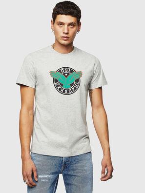 T-DIEGO-B5, Light Grey - T-Shirts