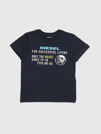 Diesel - TDIEGOXB-R, Dark Blue - T-shirts and Tops - Image 1