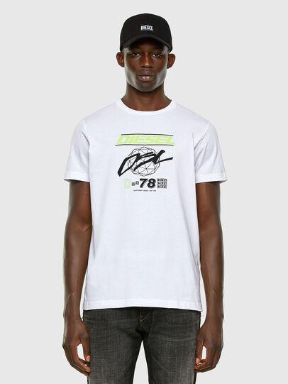 Diesel - T-DIEGOS-K34, White - T-Shirts - Image 4