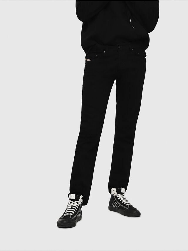 Diesel Belther 0886Z, Black/Dark grey - Jeans - Image 1