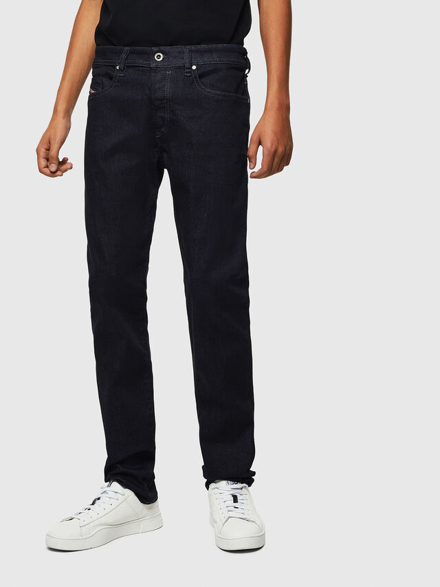 Diesel Buster 0607A, Dark Blue - Jeans - Image 1