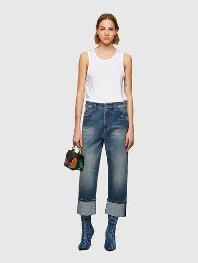 Diesel - D-Reggy 009UA, Dark Blue - Jeans - Image 5