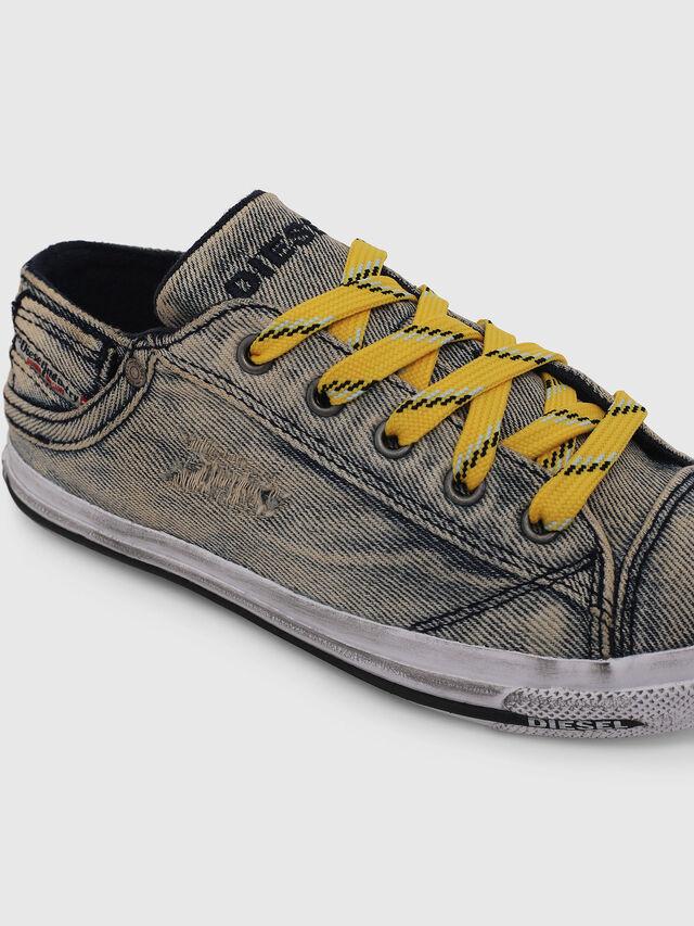 Diesel - SN LOW LACE DENIM 13, Grey Jeans - Footwear - Image 4