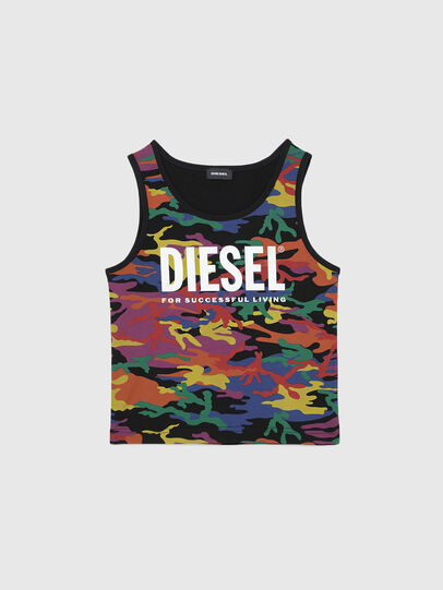 Diesel - TCANNYRBOW, Multicolor - T-shirts and Tops - Image 1