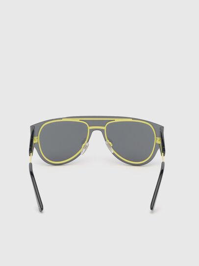 Diesel - DL0273, Black/Yellow - Sunglasses - Image 4