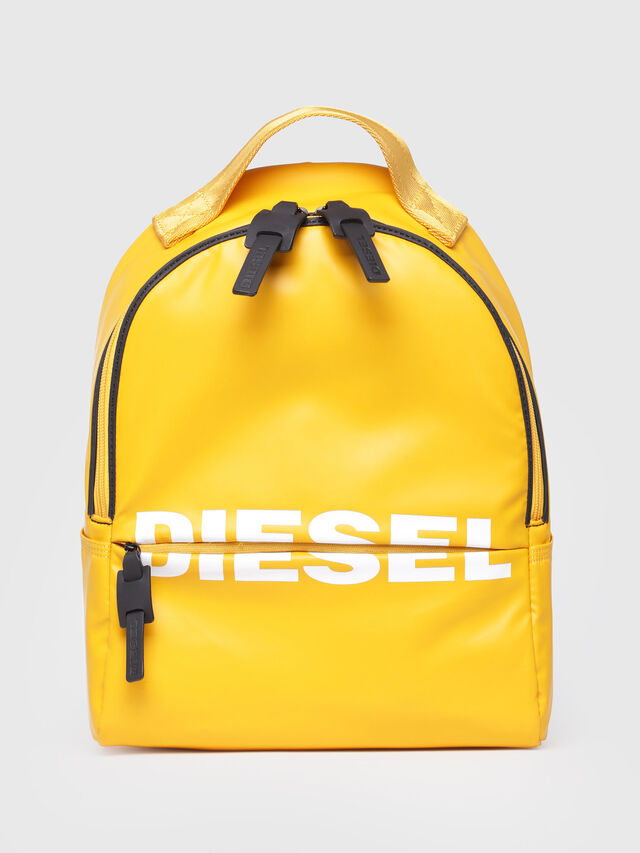 Diesel - F-BOLD BACK FL, Yellow - Backpacks - Image 1