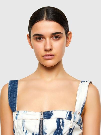 Diesel - DE-VOLCANO-SP, White/Blue - Dresses - Image 3