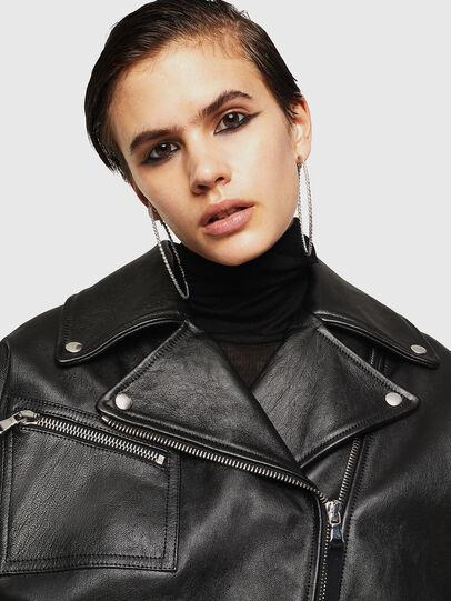 Diesel - LJESIV,  - Leather jackets - Image 3