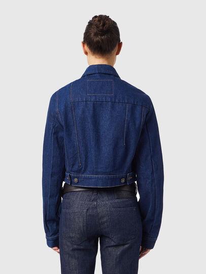 Diesel - DE-LUCYSHORT-SP, Blue - Denim Jackets - Image 2
