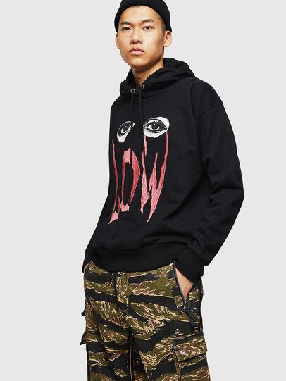 Diesel - S-ALBY-B6, Black - Sweaters - Image 1