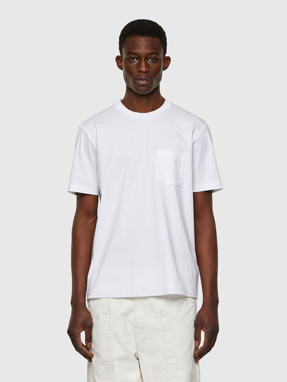 Diesel - T-JUST-WORKY, White - T-Shirts - Image 1