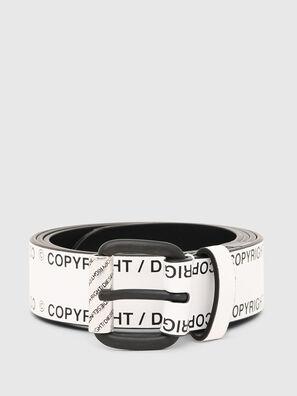 B-FULCOPY, White/Black - Belts