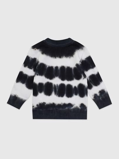 Diesel - SOBEZB, Black/White - Sweaters - Image 2