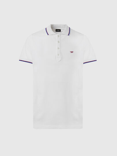 Diesel - T-RANDY-NEW, White - Polos - Image 1