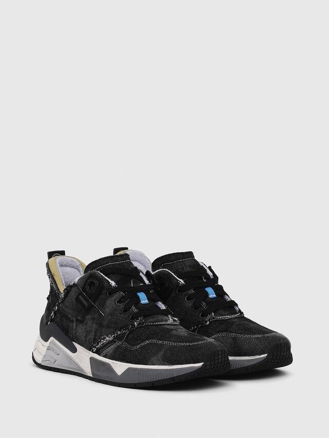 Diesel - S-BRENTHA LC, Black Jeans - Sneakers - Image 2
