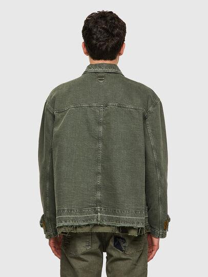 Diesel - J-GEORG, Olive Green - Jackets - Image 2